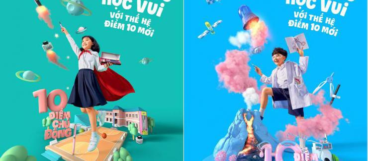 """Bộ ảnh """"Sẵn sàng học vui với thế hệ Điểm 10 mới"""": Đầy năng lượng và cảm hứng"""