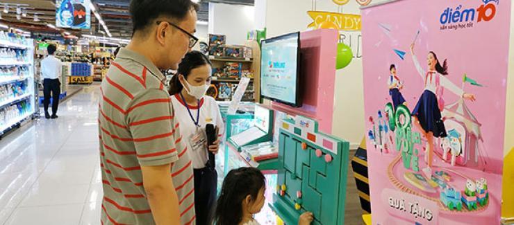 """Mừng năm học mới, Thiên Long cùng nhãn hàng Điểm 10 tái khởi động chương trình """"Hành trình tri thức"""""""
