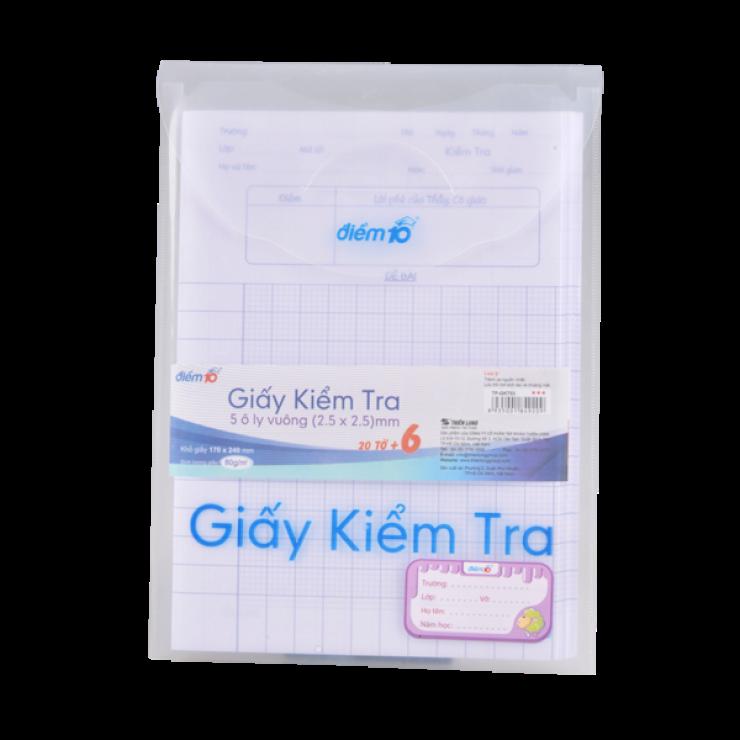 Giấy kiểm tra TP-GKT03